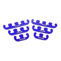 """Sprint Car & Open Wheel - Taylor Cable Products - Taylor Clip-On Style Wire Separator Kit - Blue - Taylor """"409"""", 10.4mm Plug Wire Size"""