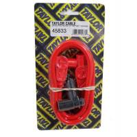 Taylor Cable Products - Taylor 8mm Spiro Pro Spark Plug Wire Repair Kit - Includes 90 Degree/180 Degree Plug Boots(Orange) - Image 1