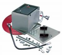 Taylor Cable Products - Taylor Aluminum Battery Box w/ 16 ft. 1 Gauge Battery Cable Kit - - Image 2