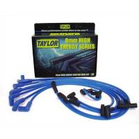 Spark Plug Wires - Taylor 8mm High Energy Spark Plug Wire Sets - Taylor Cable Products - Taylor 8mm High Energy Ignition Wire Set - Custom Fit(Blue)