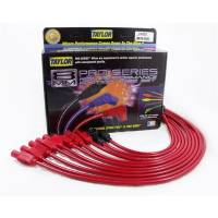 Spark Plug Wires - Taylor 8mm Spiro-Pro Spark Plug Wire Sets - Taylor Cable Products - Taylor 8mm Spiro Pro Ignition Wire Set - Custom Fit(Red)