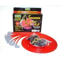 Taylor Cable Products - Taylor Universal-Fit Thundervolt 8.2mm Ignition Wire Set - 90 Plug Boots - Red