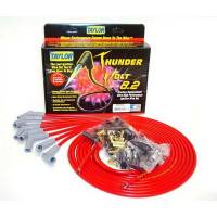 Taylor Cable Products - Taylor Universal-Fit Thundervolt 8.2mm Ignition Wire Set - 135° Plug Boots - Red