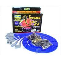 Taylor Cable Products - Taylor Universal-Fit Thundervolt 8.2mm Ignition Wire Set - 135° Plug Boots - Blue