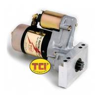 Ignition & Electrical System - TCI Automotive - TCI Lightweight Racing Mini Starter - Fit 153 & 168 Tooth Flywheel - SB Chevy