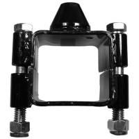 "Chassis Components - UB Machine - UB Machine Clamp-On Ballast Bracket - Fits 2"" x 2"" Square Tubing - 1/2"" Thread"