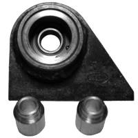 Trailing Arm, Mounts & Bushings - Trailing Arm Brackets - Weld-On - UB Machine - UB Machine Metric Upper Trailing Arm Mounts Rear w/ Monoball Bearing (Pair)