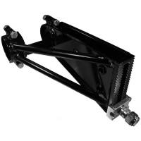 UB Machine - UB Machine Adjustable Panhard Bar Mount - Mounts On Rear of Quick Change