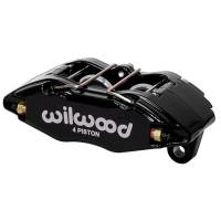 """Wilwood Brake Calipers - Wilwood Forged DPHA Front Brake Caliper Kits - Wilwood Engineering - Wilwood Forged DHPA DynaPro Honda/Acura Caliper - Black - 5.51"""" Lug Mount - 1.62"""" Pistons - .83"""" Rotor Width"""