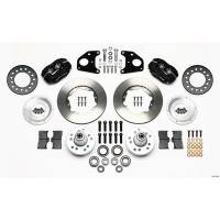 "Front Brake Kits - Drag - Wilwood Forged Dynalite Pro Series Front Brake Kits - Wilwood Engineering - Wilwood Dynalite Pro Series Front Brake Kit - Black - Plain Face Rotor - 11"" Rotor E-Body"