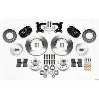 Front Brake Kits - Drag - Wilwood Forged Dynalite Pro Series Front Brake Kits - Wilwood Engineering - Wilwood Dynalite Pro Series Front Brake Kit - Black - Plain Face Rotor - 11.00""