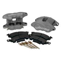 Wilwood Brake Calipers - Wilwood D52 Brake Calipers - Wilwood Engineering - Wilwood D52 Front Caliper Kit - Black Anodize Caliper