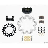 Brake Systems - Sprint Car Brake Kits - Wilwood Engineering - Wilwood GP320 Sprint Left Front Brake Kit