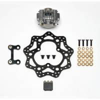 "Brake Systems - Sprint Car Brake Kits - Wilwood Engineering - Wilwood Sprint Car LF Brake Kit - 11"" Steel Rotor"