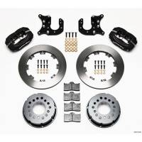 Rear Brake Kits - Drag - Wilwood Forged Dynalite Pro Series Rear Disc Brake Kits - Wilwood Engineering - Wilwood Dynalite Pro Series Rear Brake Kit - Black - Plain Face Rotor - Mopar/Dana