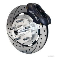 Wilwood Engineering - Wilwood Dynalite Big Brake Front Brake Kit (Hub) - Black - SRP Rotor - 67-72 Camaro Nova - Image 2