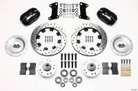 Wilwood Engineering - Wilwood Dynalite Big Brake Front Brake Kit (Hub) - Black - SRP Rotor - 67-72 Camaro Nova - Image 4