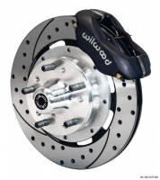 Wilwood Engineering - Wilwood Dynalite Big Brake Front Brake Kit (Hub) - Black - SRP Rotor - 79-81 Camaro - Image 3