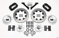 Wilwood Engineering - Wilwood Dynalite Big Brake Front Brake Kit (Hub) - Black - SRP Rotor - 79-81 Camaro - Image 4