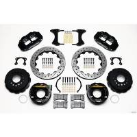 "Rear Brake Kits - Street / Truck - Wilwood Forged Narrow Superlite 4R Big Brake Rear Parking Brake Kits - Wilwood Engineering - Wilwood Forged Narrow Superlite 4R Big Brake Rear Parking Brake Kit -Black - 12.88"" Rotor - Big Ford (New Style)"