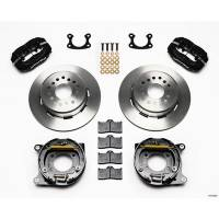 """Rear Brake Kits - Street / Truck - Wilwood Forged Dynalite Rear Parking Brake Kits - Wilwood Engineering - Wilwood Dynalite Rear Parking Brake Kit - Black - Plain Face Rotor - Small Ford 2.50"""""""