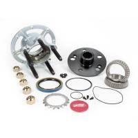 """Hubs & Bearings - 5 x 5"""" Hubs - Winters Performance Products - Winters Steel 5x5 Rear Hub w/ Coarse Studs - Platinum"""