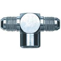Brake Fittings, Lines and Hoses - Tee Brake Adapters - Aeroquip - Aeroquip Steel Tee 1/8 NPT female to #-04 AN Fitting