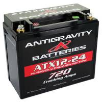Batteries and Components - Batteries - Antigravity Batteries - Antigravity Batteries Lithium Battery 720CCA 12Volt 4.5 lb. 24 Cell