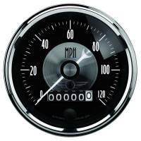 Analog Gauges - Speedometers - Auto Meter - Auto Meter 3-3/8 Speedometer Gauge 120mph Electric Programmable