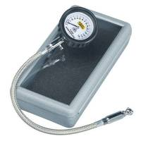 Tools & Pit Equipment - Auto Meter - Auto Meter Tire Pressure Gauge 0-15 psi Analog w/Bleed Valve