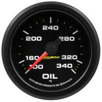 Analog Gauges - Oil Temperature Gauges - Auto Meter - Auto Meter 2-1/16 Gauge Oil Temp 0-340F