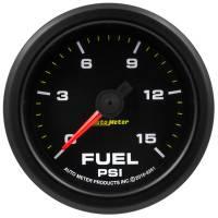 Fuel Pressure Gauges - Electric Fuel Pressure Gauges - Auto Meter - Auto Meter 2-1/16 Gauge Fuel Press 0-15 psi