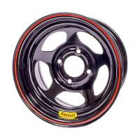 "Bassett Racing Wheels - Bassett 13x7 5x100mm 3"" Back Spacing Inertia D-Hole Black"