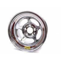 "Bassett Racing Wheels - Bassett 15x10 5x5 Chrome Inertia 2"" Back Spacing w/Bead Bump"