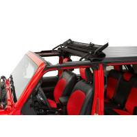 Body & Exterior - Bestop - Bestop Sunrider For Hardtop 18- Jeep JL Black Diamond