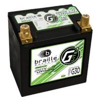 Batteries and Components - Batteries - Braille Battery - Braille Lithium 12 Volt Battery Green Lite 947 Amps