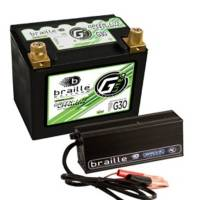 Batteries and Components - Batteries - Braille Battery - Braille Lithium 12 Volt Battery Green Lite w/Charger