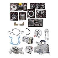 Pulley Kits - Serpentine Belt Pulley Kits - Billet Specialties - Billet Specialties SB Ford Tru Track Pulley System