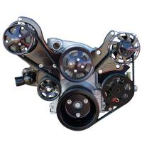 Pulley Kits - Serpentine Belt Pulley Kits - Billet Specialties - Billet Specialties Tru Trac Pulley System LS Series Engines