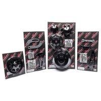 Pulley Kits - Serpentine Belt Pulley Kits - Billet Specialties - Billet Specialties BB Chevy Long Water Pump Serpentine Conversion Kit Black