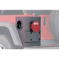 Body & Exterior - Bushwacker - Bushwacker 17- Jeep Wrangler JL Rear Corner Trail Armor