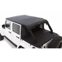 Bushwacker - Bushwacker 07-18 Jeep Wrangler JK 4Dr Trail Armor Soft Top