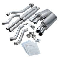 Exhaust System - Corsa Performance - Corsa 96- Corvette 5.7L Sport Cat Back Exhaust 2.5in