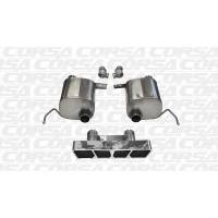 Corsa Performance - Corsa 14- Corvette 6.2L XTreme Valve-Back Exhaust Kit