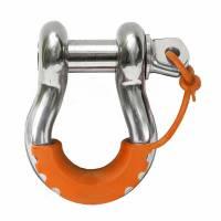 Trailer & Towing Accessories - Daystar - Daystar Locking D-Ring Isolator Fluorescent Orange