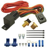 """Electric Fan Wiring and Components - NEW - Electric Fan Controllers - NEW - Derale Performance - Derale 190F Fan Switch Thermostat at Relay Kit 1/8"""" & 3/8"""