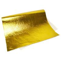 """Exhaust System - Exhaust - NEW - Design Engineering - Design Engineering 24"""" x 24"""" Heat Shield Gold Non Adhesive"""