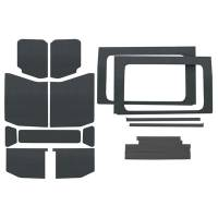 Sound and Heat Insulation - Sound Barriers - Design Engineering - Design Engineering Jeep JL 4 DR 18- HeadLiner Kit Gray 13pc Comb