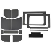 Sound and Heat Insulation - Sound Barriers - Design Engineering - Design Engineering Jeep JL 4 DR 18- HeadLiner Kit Gray Leather L