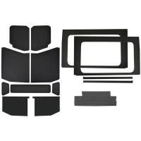 Sound and Heat Insulation - Sound Barriers - Design Engineering - Design Engineering Jeep JL 4 DR 18- HeadLiner Kit Black Leather